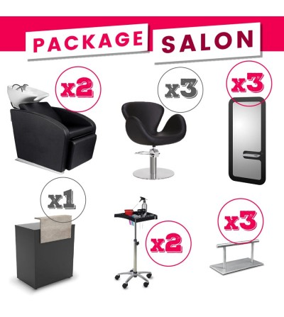 package salon coiffure complet